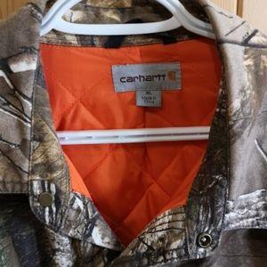 Carhartt jacket.
